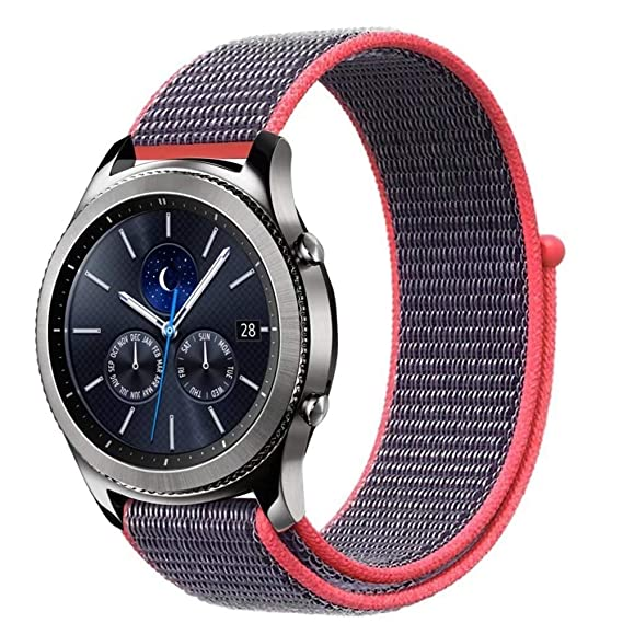 Jewh Sport Loop Bracelet for Samsung Gear s3 - Frontier/Classic Band Strap - Smart
