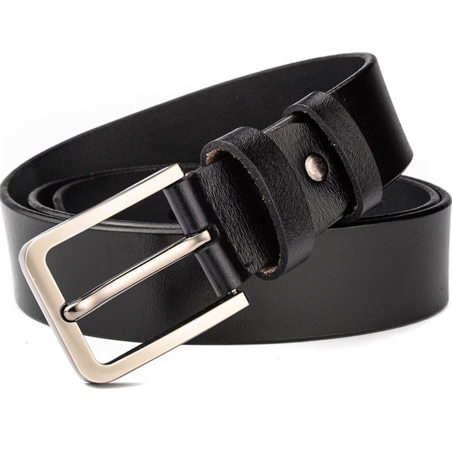 HuoGuo Belts Men 140CM 150CM 160CM NEWNew Fashion Business Casual Male Belt Strong Men Best Popular Selling Goods Cool Choice Hot Sale Black Asia size 150CM