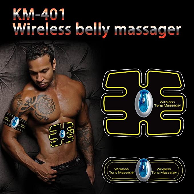 EMS abdominal muscular tonificante cinturón hogar ...