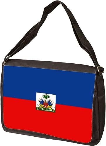 Haiti Flag Messenger Bag – Shoulder Bag – Laptop Bag