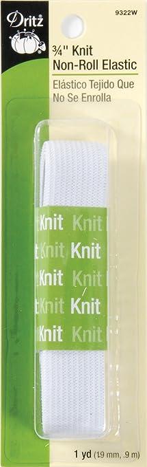 1 pulgadas tejida plana y 2 pulgada de ancho elástico negro y blanco Premium Calidad vendedor del Reino Unido