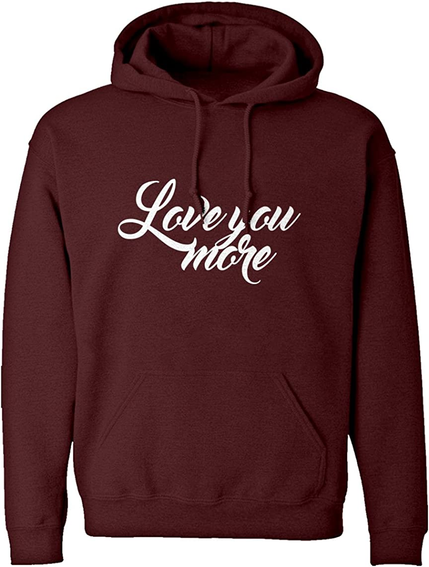 Indica Plateau Love You More Unisex Adult Hoodie