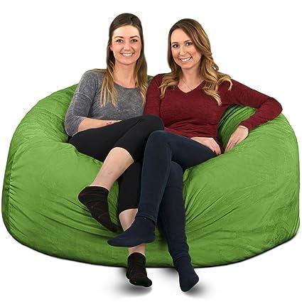 Amazon Com Ultimate Sack 5000 Bean Bag Chair Giant Foam Filled