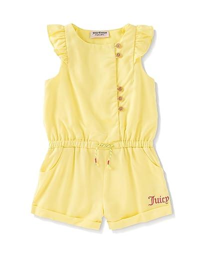 8d058045c11c Amazon.com  Juicy Couture Girls Girls  Yellow Romper