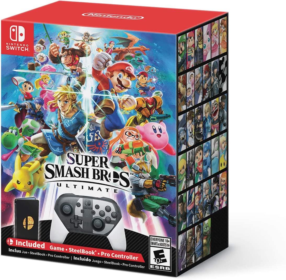 Amazon Com Super Smash Bros Ultimate Special Edition Nintendo
