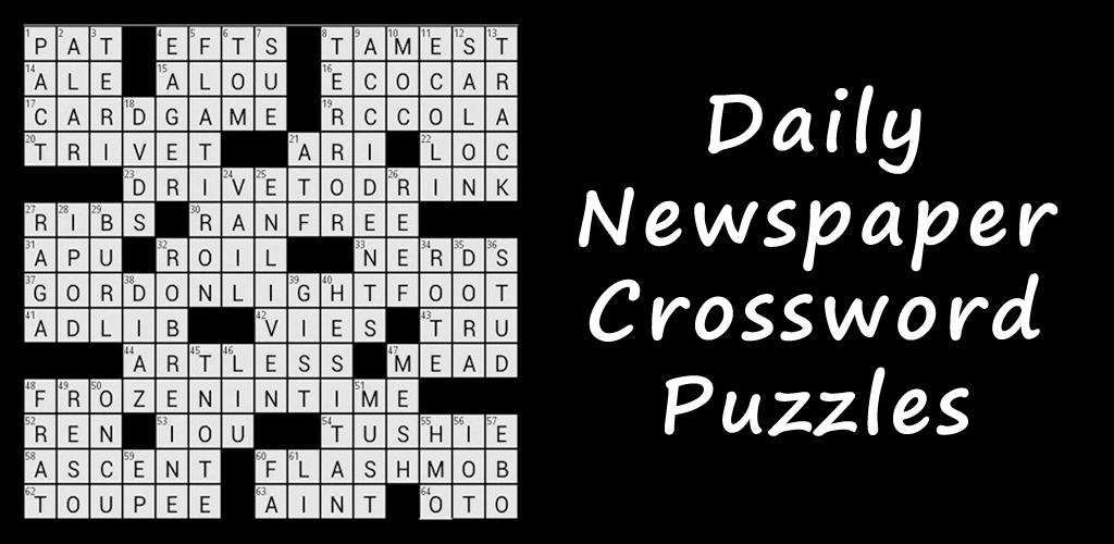 This is a picture of Unforgettable Newspaper Crosswords Printable