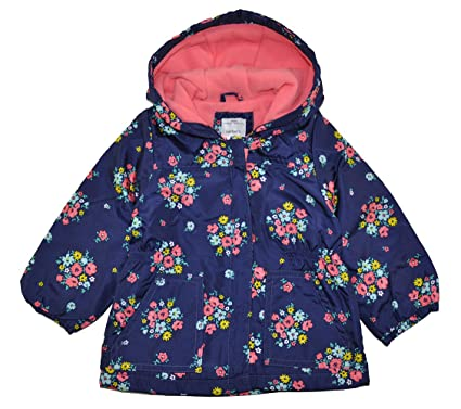 cf355789d3a4 Amazon.com  Carter s Baby Girls Infant Midweight Fleece Lined Jacket ...