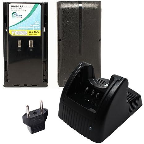2-Pack KNB-16 KNB-16A KNB-17A KNB-21 1800mAh 7.2V Ni-MH Replacement Battery for Kenwood TK-480 TK-380 TK-280 TK-290 TK-190 TK-5400 Two-Way Radio