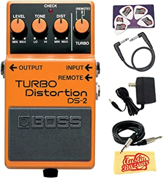 Boss DS-2 Turbo Distortion w// Cables