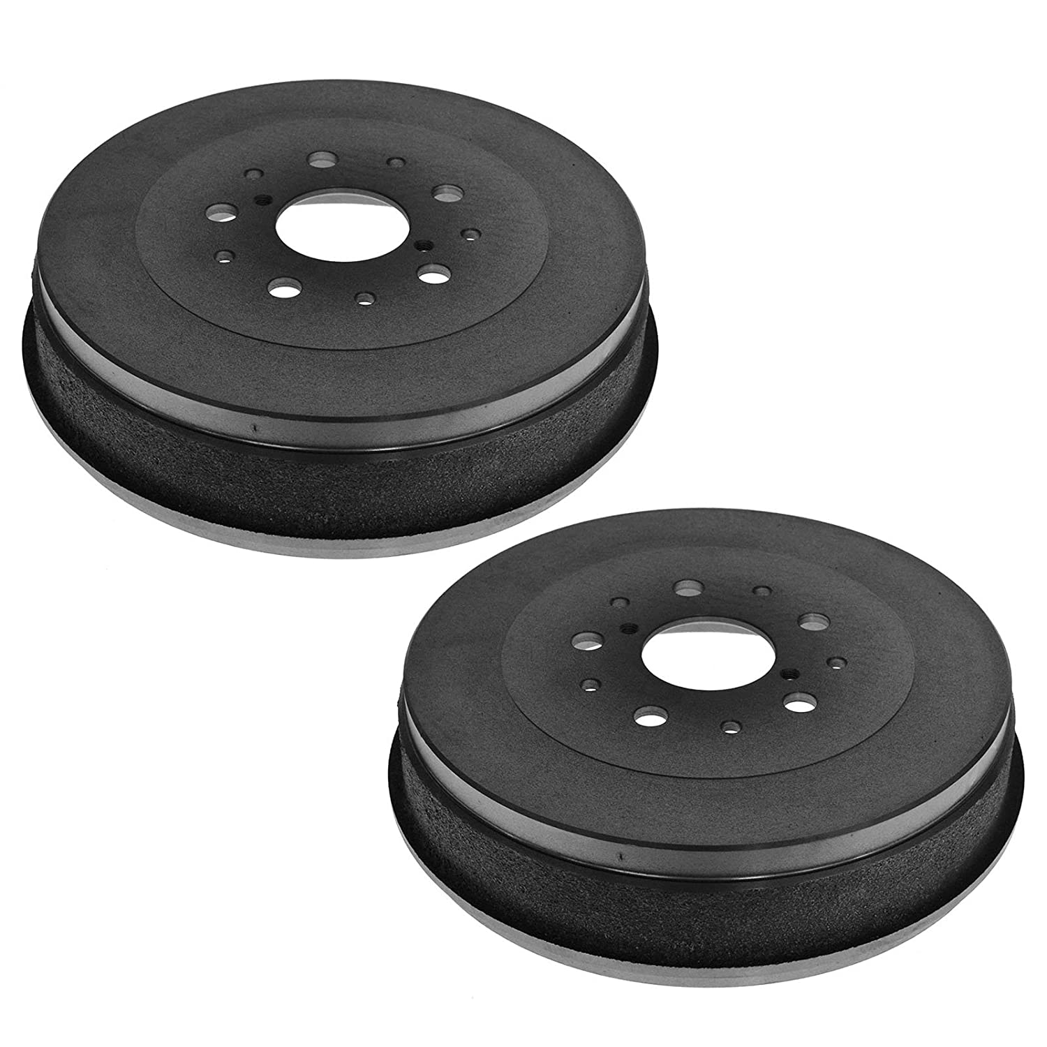 Brake Drum Rear Pair Set of 2 for 05-14 Toyota Tacoma 5 Lug 1A Auto