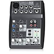 front facing behringer xenyx 502