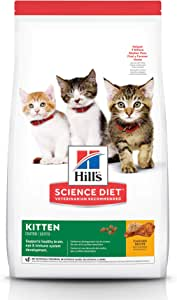 Hill's Science Diet Kitten Chicken Recipe Dry Cat Food 4kg Bag