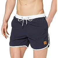 Urban Classics Retro Swimshorts Pantalones Cortos para Hombre