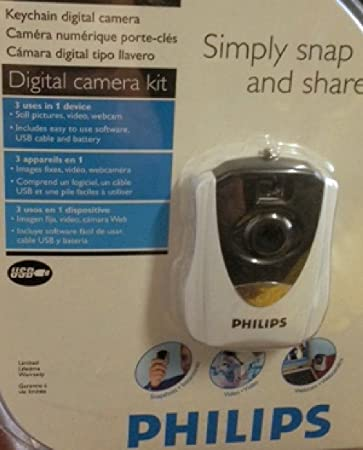 Amazon.com : Philips Keychain Digital Camera : Camera & Photo