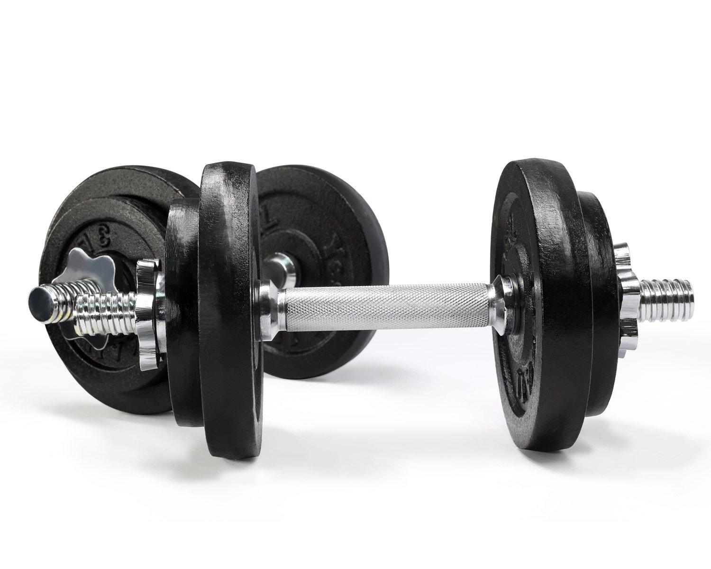40 libras, 50 libras, 60 libras - Asas de mancuernas de hierro fundido con un mancuernas sólido ajustable - perfecto para gimnasio en casa system- Edificio ...