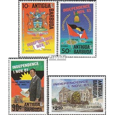 antigua et Barbuda 644-647 (complète.Edition.) 1981 Indépendance (Timbres pour les collectionneurs)