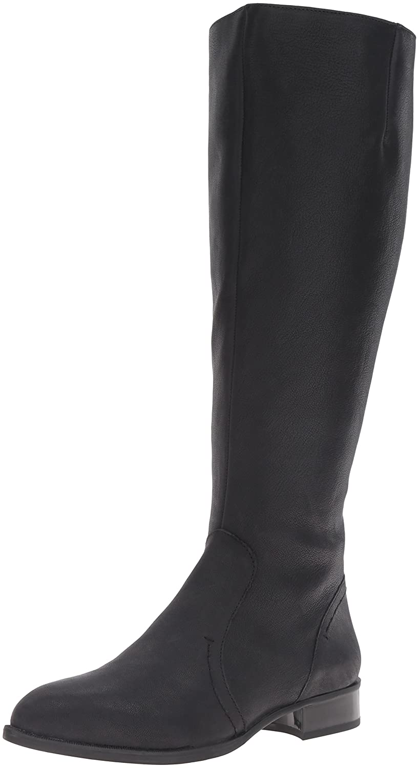 Nine West Women's Nicolah-Wide Leather Winter Boot B01GITT6PQ 9 B(M) US|Black