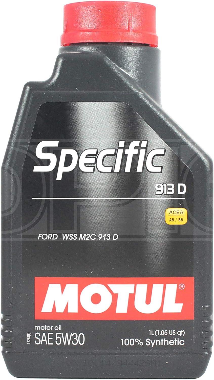 Aceite Lubricante Motor - Motul Specific 913D 5W-30, 1 litro