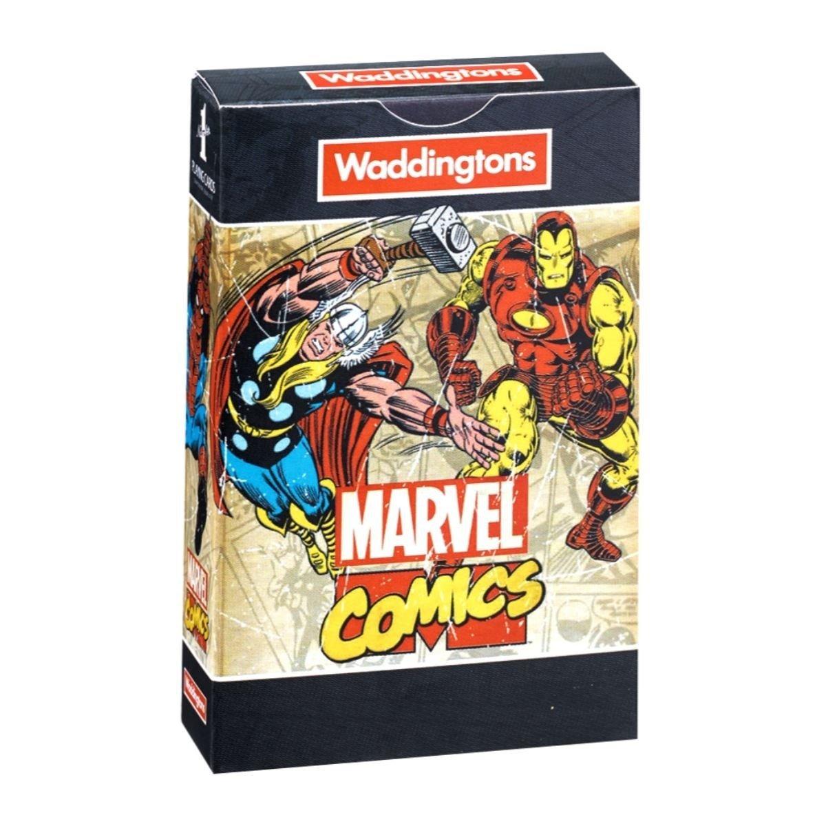 Karty do gry Waddingtons Marvel Comics Retro wersja ...