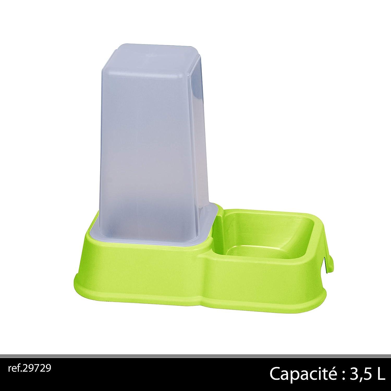 Distributeur de croquettes, 3,5 l vert pour Chats Fornord 29729