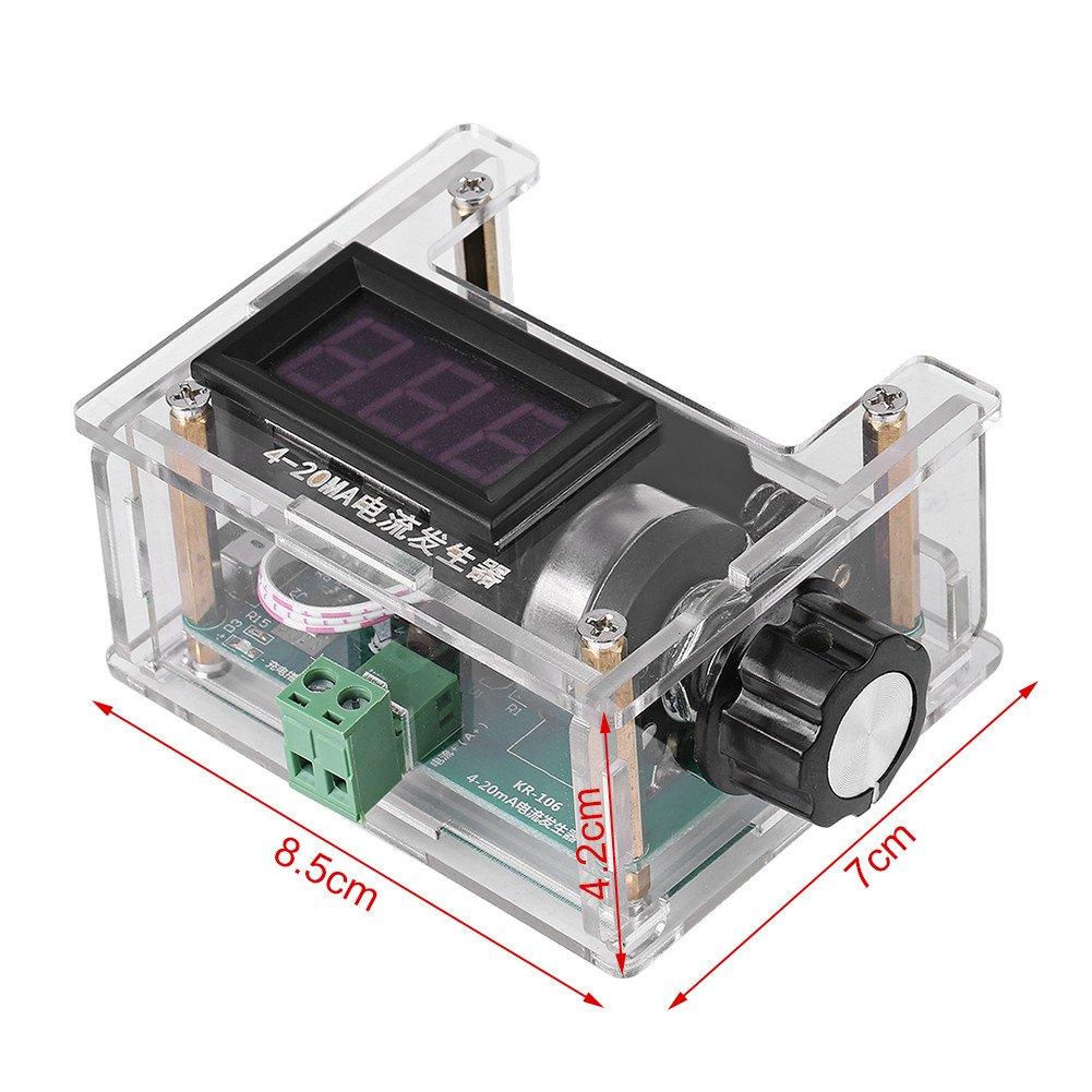 DIY Digital Einstellbare 4-20mA Strom Signal Generator Analog ...