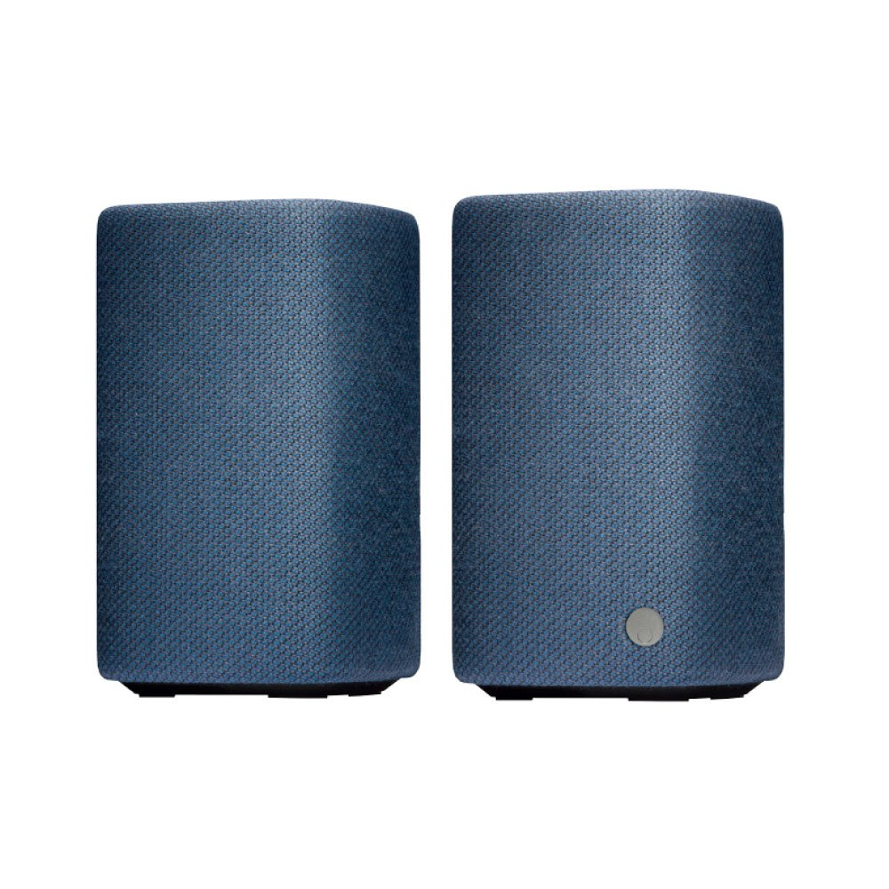 Cambridge Audio(ケンブリッジオーディオ) YOYO (M) bluetooth スピーカー 24時間連続再生 ブックシェルフスピーカー ポータブルスピーカー ブルートゥース スピーカー デジタルオーディオ用スピーカー 高音質 重低音 小型 コンパクト NFC対応 内蔵マイク スピーカーフォン ハンズフリー ジェスチャーコントロール おしゃれ ファブリック 大音量 USB充電 C10931K C10930K C10965K メーカー1年保証 【国内正規品】 (Blue) B06WVCGKYX Blue