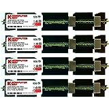 Komputerbay 8GB (4X2GB) APPLE MAC PRO MEMORY ECC FULLY BUFFERED DDR2 667 PC2-5300F PC2-5300 2Rx4 FB DIMM CL5 (240 PIN) w/ Heatspreaders