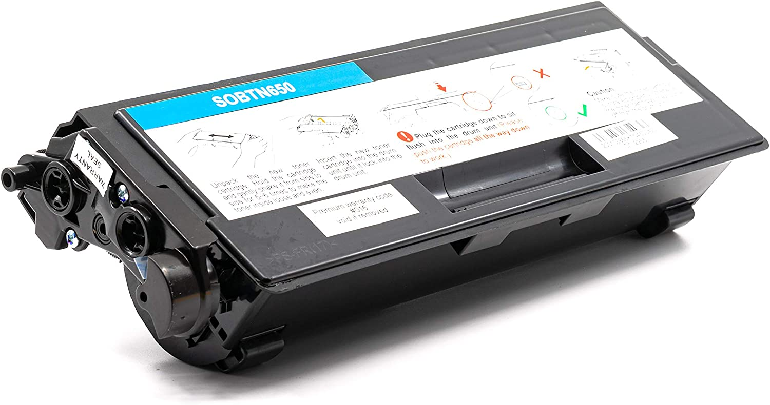 SuppliesOutlet Compatible Toner Cartridge Replacement for Brother TN650 TN620 TN-620 High Yield Black,4 Pack TN-650