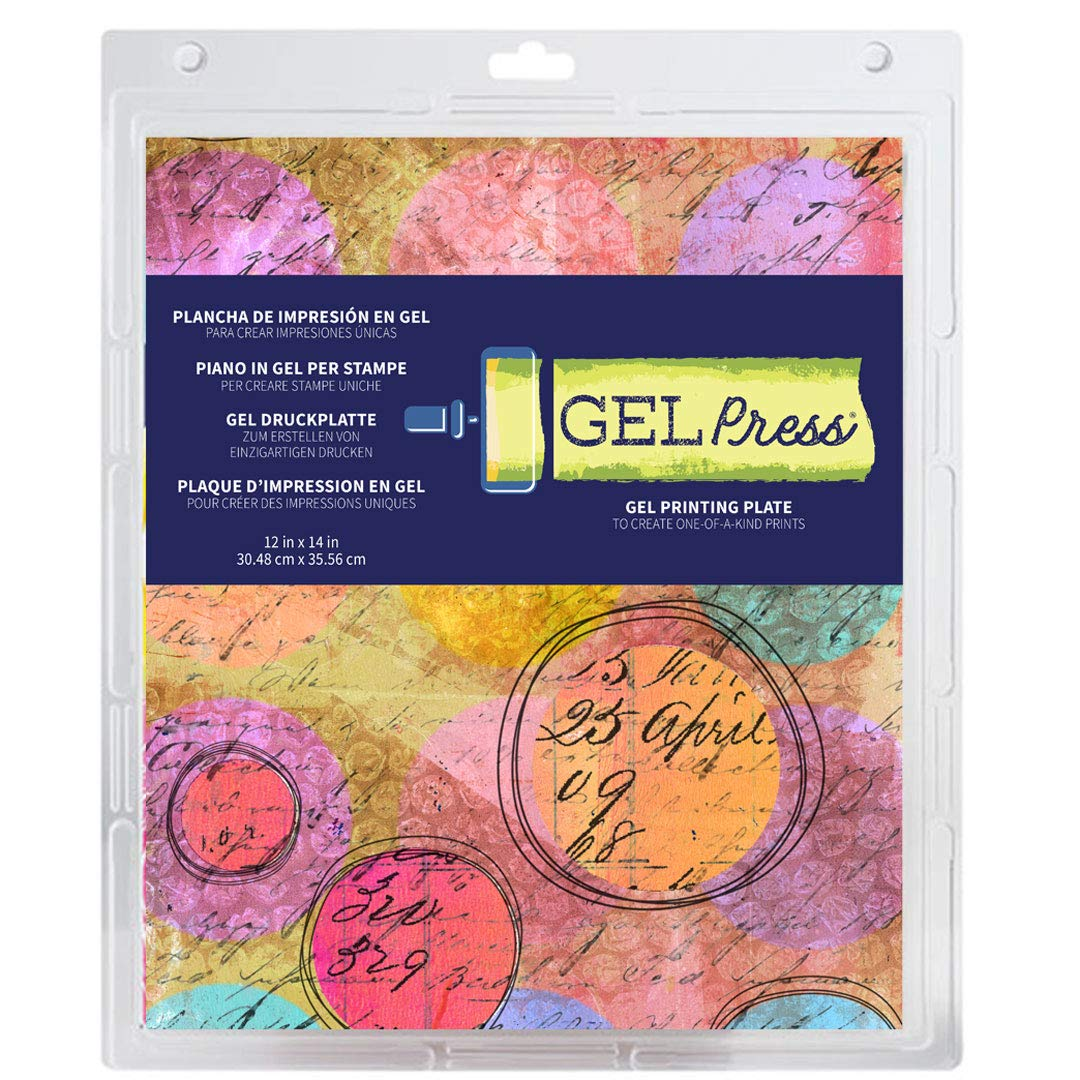 Plancha de Gel para Impresiones GEL PRESS 30x35cm
