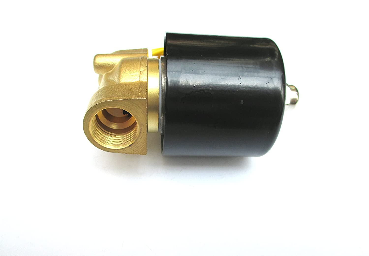 3//8 Solenoid Valve 110v//115v//120v DC Brass Electric Air Water Gas Diesel Normally Closed NPT