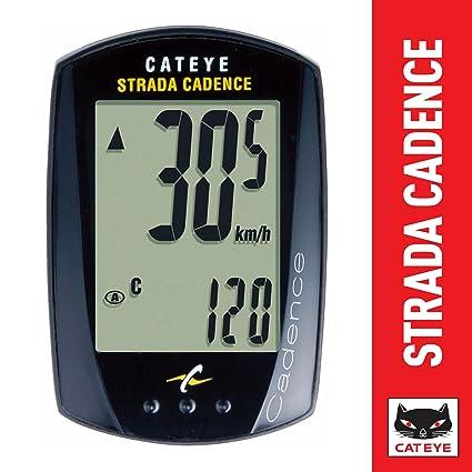 Cateye Strada Cadence - Ciclocomputador, color negro