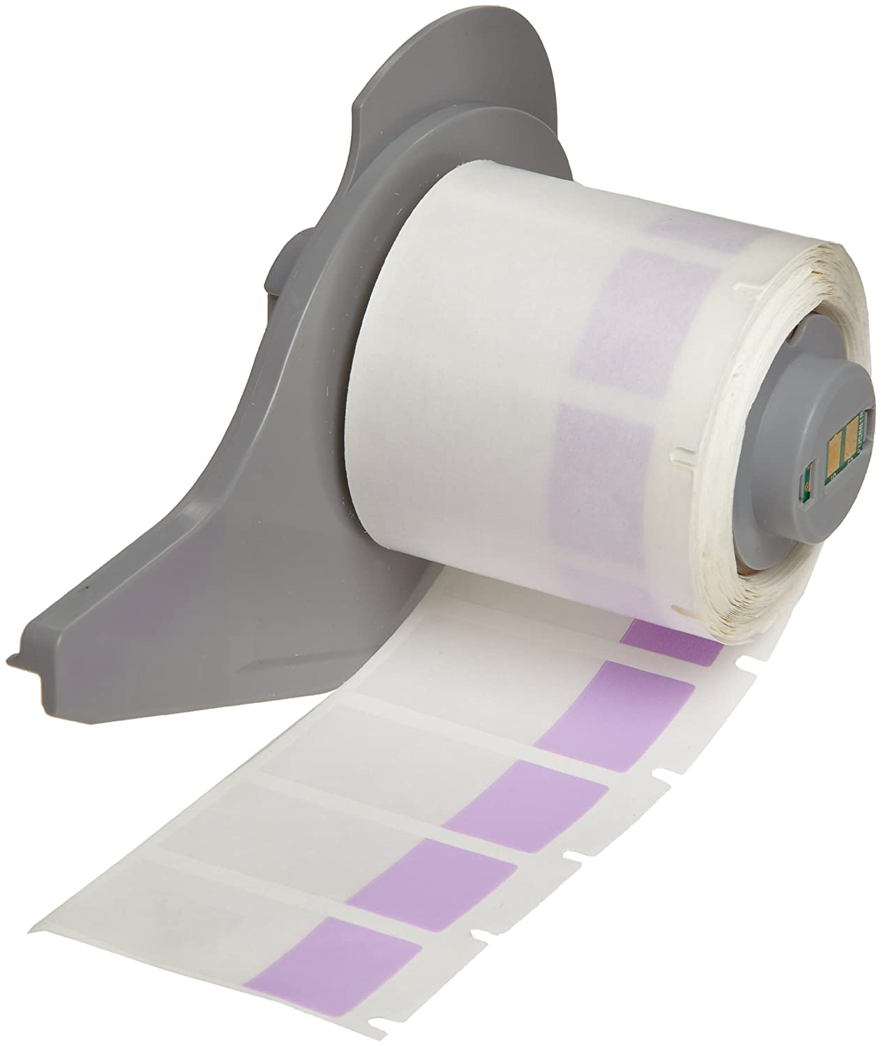 Brady M71-18-427 0.75 Width x 1 Height White//Translucent Color B-427 Self-Laminating Vinyl Labels With Matte Finish For BMP71 Label Printer 250 Per Roll