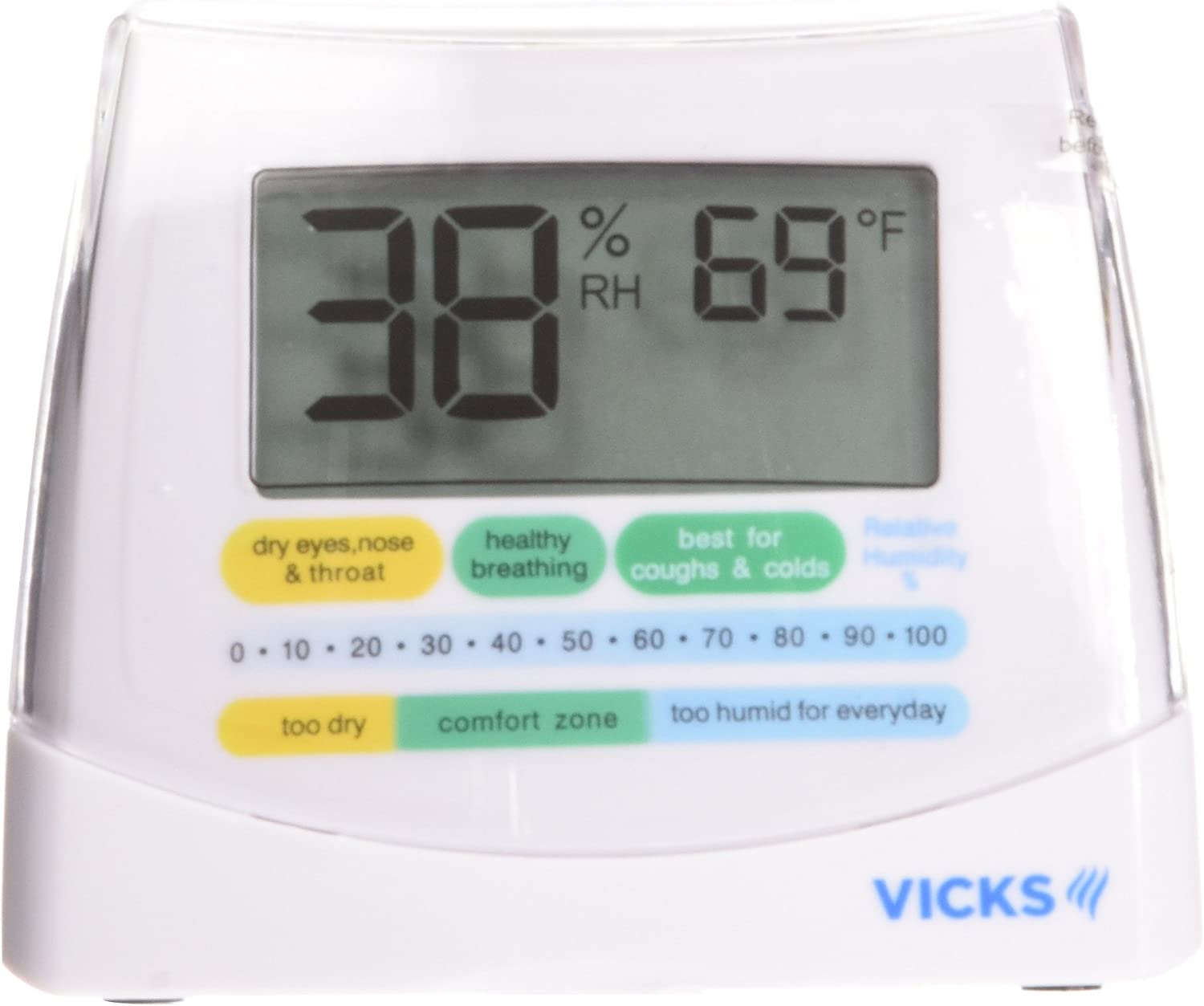 B0000TN7NS Vicks Humidity Monitor Helps You Keep Moisture at Ideal Levels 71BJl5i5rQL