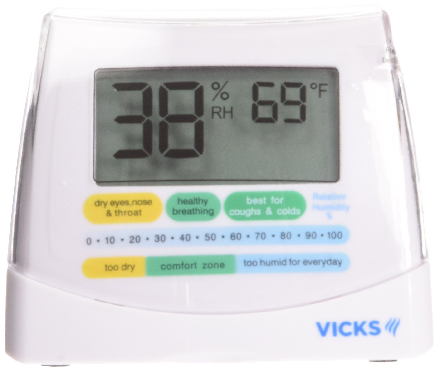 Vicks Humidity Monitor Helps You Keep Moisture at Ideal Levels by Vicks