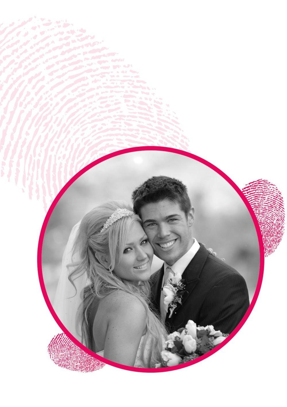 Kartenparadies Danksagung für Hochzeitsgeschenke Hochzeit Hochzeit Hochzeit Dankeskarte fingerprint, hochwertige Danksagungskarte Hochzeitsglückwünsche inklusive Umschläge   20 Karten - (Format  105x148 mm) Farbe  RosaLila B01N6TCGIP | Queensland  | Pe 353400