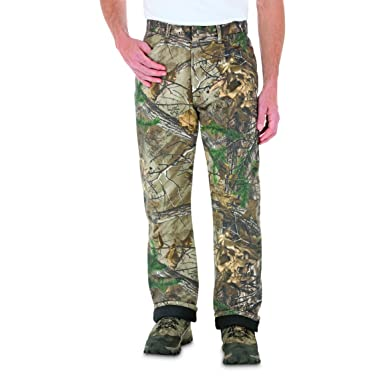 7324cc69 Image Unavailable. Image not available for. Color: Wrangler ProGear Men's  Thermal Lined Camo Jeans ...