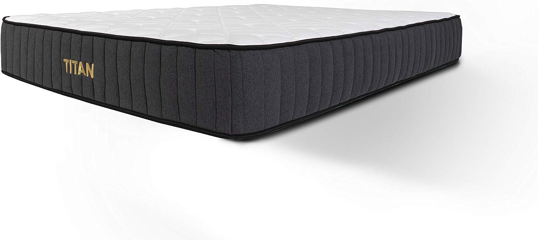 Brooklyn Bedding Titan 11-Inch TitanFlex Hybrid Mattress with TitanCaliber Coils, Full
