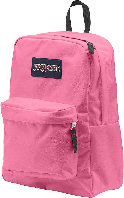 JanSport Unisex SuperBreak Pink Pansy Backpack