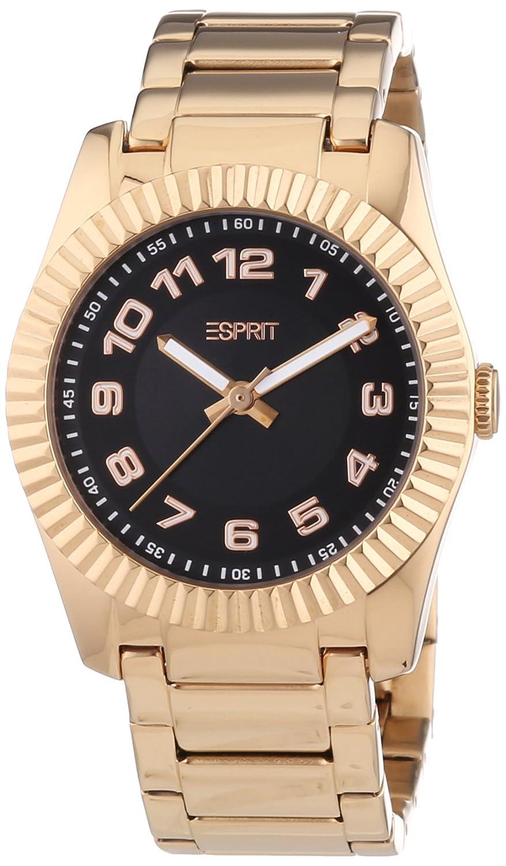 Esprit Vestige Rosegold - Reloj de cuarzo para hombres, color dorado