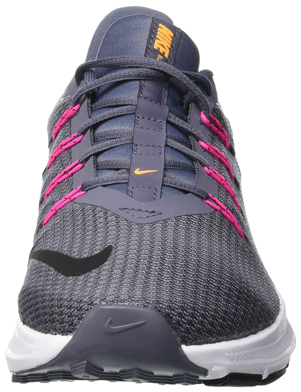 Amazon.com | Nike Womens Quest Light Carbon/Black/Laser Orange (7 B US) | Road Running