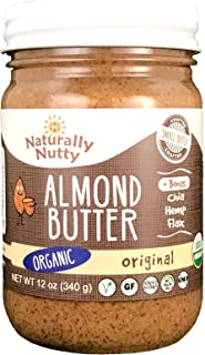 product image for Naturally Nutty, Almond Butter Original, 12 Ounce
