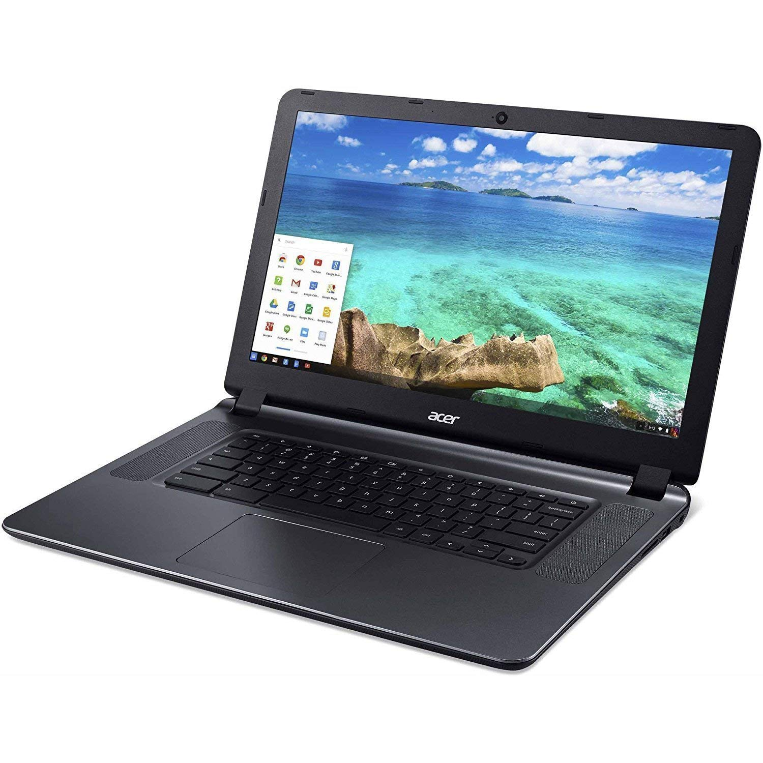 2018 Newest Acer CB3-532 15.6 HD Chromebook with 3x Faster WiFi, Intel Dual-Core Celeron N3060 upto 2.48GHz, 2GB RAM, 16GB SSD,HDMI,USB 3.0, Webcam, 12-Hrs Battery, Chrome OS Renewed
