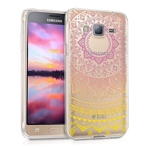 6 opinioni per kwmobile Cover per Samsung Galaxy J3 (2016) DUOS- Custodia in silicone TPU- Back