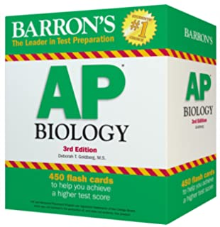 Barron's AP Biology Flash Cards, 3rd Edition