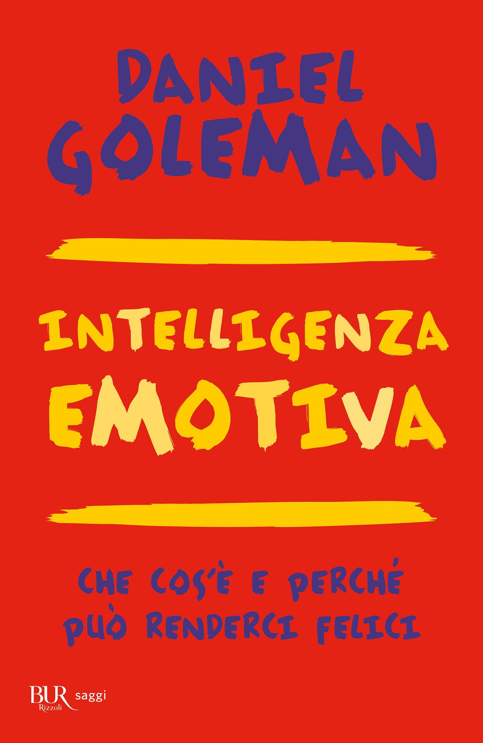 Copertina Libro Intelligenza emotiva