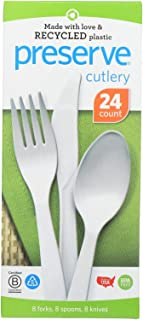 product image for Preserve Medium Weight Cutlery Set - 24 per pack - 12 packs per case.