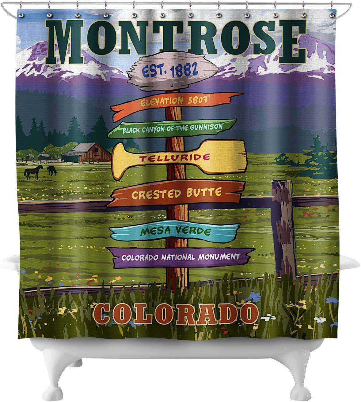 Amazon.com: Lantern Press Montrose, Colorado - Destination ...