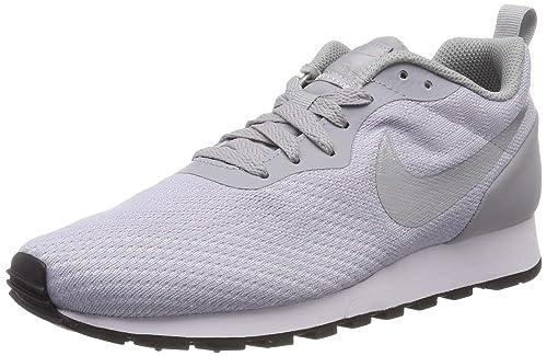 Nike Tenis MD Runner 2 Eng Mesh 916797008 Gris Claro