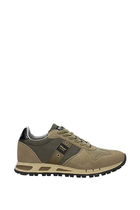 Sneakers Blauer Mustang Hombre - Gamuza (8FMUSTANG01TAS) EU: Amazon.es: Zapatos y complementos