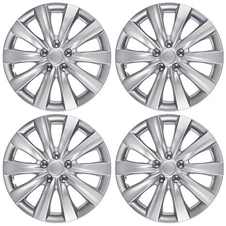 """BDK Tapacubos Toyota Corolla estilo fundas para ruedas de 16 """" – 2011, 2012"""